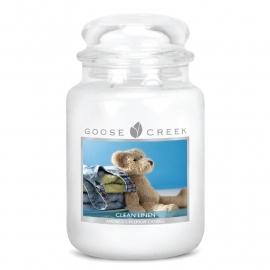 Soft Linen Breeze  Goose Creek Candle  24oz Large Jar
