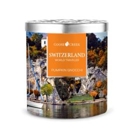 Pumpkin Gnocchi Goose Creek Candle Zwitserland World Traveler  453 gram