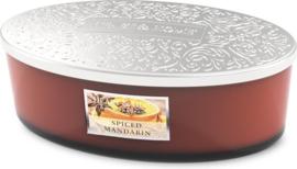 Spiced Mandarin Heart & Home Geurkaars Ellipse 4 wicks