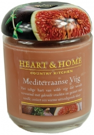 Mediterraanse Vijg Heart & Home Large Jar