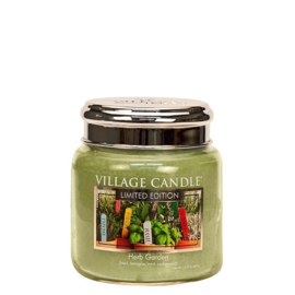 Herb Garden Village Candle  Spa Collectie Medium Jar 105 Branduren