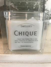 Chique Smellies geurkaars  50 Branduren