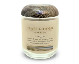 Zeegras Heart & Home Large Jar