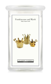 Frankincense and Myrrh Classic Candle Large 2 wick