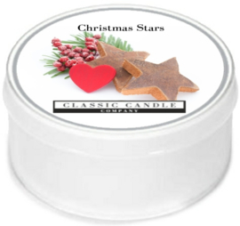 Christmas Stars  Classic Candle MiniLight