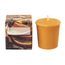 Spiced Mandarin Heart & Home Votive Geurkaars  52 gram