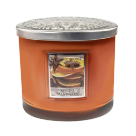 Spiced Mandarin  Heart & Home  2 Wick Ellipse Candle