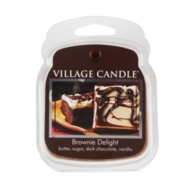 Brownie Delight Village Candle  1Wax Meltblokje