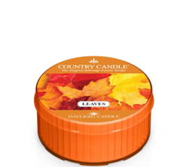 Leaves Country Candle   Daylight