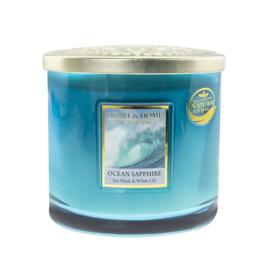 Ocean Sapphire Heart & Home Ellips 2 wick Candle 230 gram