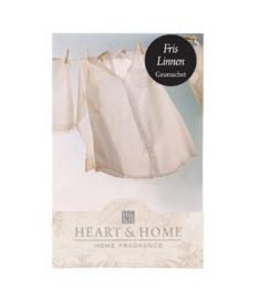 Fris Linnen Heart & Home Geurzakje