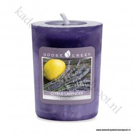 Citrus Lavender Goose Creek Candle Votive Geurkaars