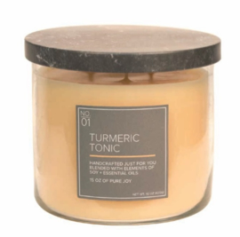 Turmeric Tonic Village Candle Soy Blended 3 wick