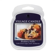 Blueberry Muffin Village Candle 1 Wax Melt blokje