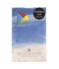 Hemelsblauwe Lucht Heart & Home Geurzakje
