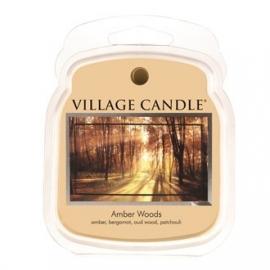 Amber Woods Village Candle  1 Wax Melt blokje