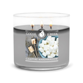 Campfire Marsmallow  Goose Creek Candle  Soy Blend  3 Wick Tumbler