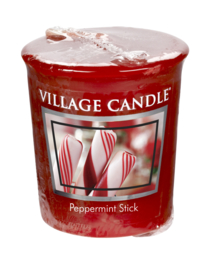 Peppermint Stick Village Candle Premium (61g) Votive