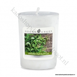 Minted Eucalyptus Goose Creek Candle Votive Geurkaars