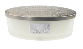 Winter Wonderment  Heart & Home Geurkaars Ellipse 4 wicks