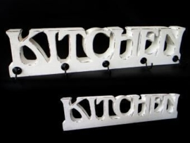 Kitchen + 5 haken 42cm white