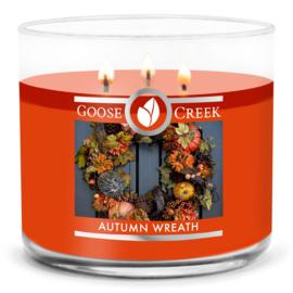 Autumn Wreath  Goose Creek Candle  3 Wick Geurkaars