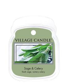 Sage & Celery Village Candle  Waxmelt
