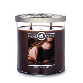 Melt My Heart Goose Creek 2 Wick Candle 453 gram