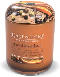 Spiced Manndarin Heart & Home Large Jar 340 gram