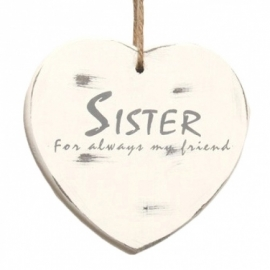 Hart    Sister for always my friend