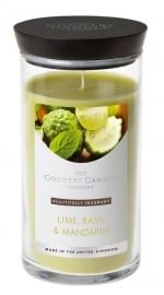 Lime, Basil & Mandarin  Country Candle Medium jar