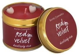 Red Velvet Bomb Cosmetics Geurkaars