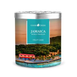 Fruit Cake Goose Creek Candle Jamaica World Traveler  453 gram