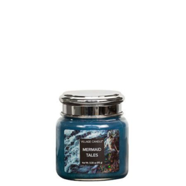 Mermaid Tales  Fantasy Village Candle 25 Branduren