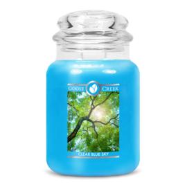 Clear Blue Sky Goose Creek Candle® Geurkaars Large 150 Branduren