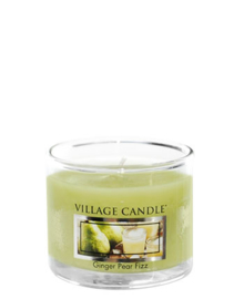 Village Candle  Ginger Pear Fizz  Mini Glass Votive
