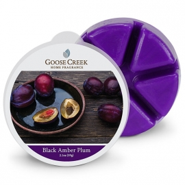 Black Amber Plum Goose Creek Waxmelt
