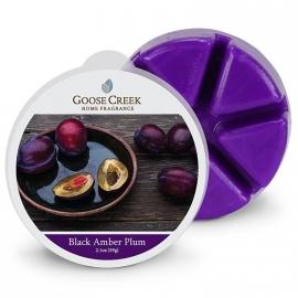 Black Amber Plum Goose Creek 1 Waxmelt blokje