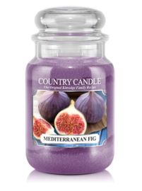 Mediterranean Fig Country Candle  Large Jar 150 Branduren