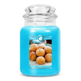 Peach Cobbler Donut Goose Creek Candle® Geurkaars Large 150 Branduren