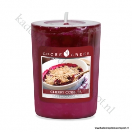 Cherry Cobbler Goose Creek Candle Votive Geurkaars