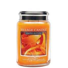 Citrus Twist Village  Candle Limited Edition    Large 170 Branduren