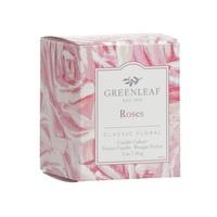 Roses Greenleaf Geurkaars