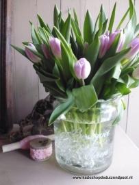 Vaas met tekst  Bouquet de Fleurs