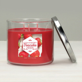 Goose Creek Candle Strawberry Tea Cake Elixer Candle 3 Wick Tumbler
