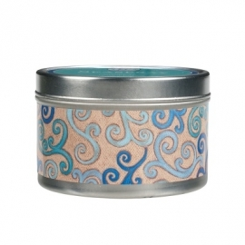 Greenleaf Seaspray Candle Tin 40 branduren