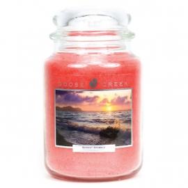 Sunset Sparkle  Goose Creek Geurkaars 150 Branduren