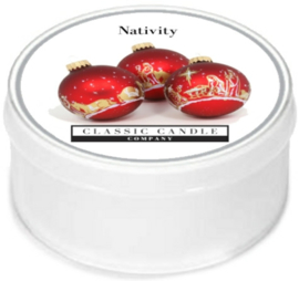 Nativity Classic Candle MiniLight