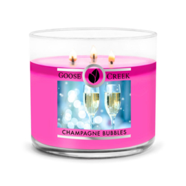 Champagne Bubbles Goose Creek Candle  Soy Blend  3 Wick Tumbler
