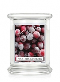 Frosted Cranberry  Kringle Candle 14,5oz Medium Jar  (2 Lonten)